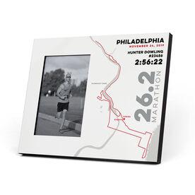 Running Photo Frame - Philadelphia 26.2 Route