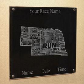 Nebraska State Runner Wall Art