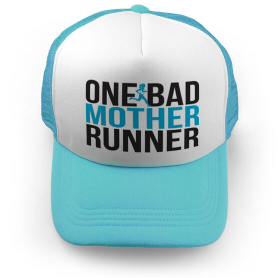Running Trucker Hat One Bad Mother Runner