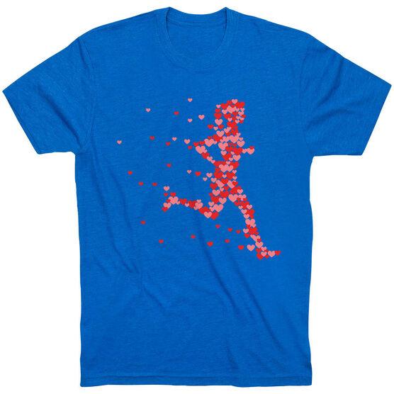 Running Short Sleeve T-Shirt - Heartfelt Run