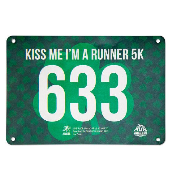 Virtual Race - Kiss Me I'm a Runner 5K - BEER SOCKS (2020)