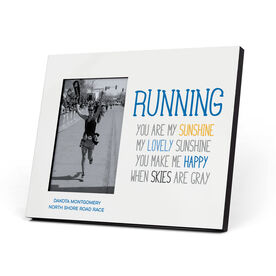 Running Photo Frame - Running You Are My Sunshine