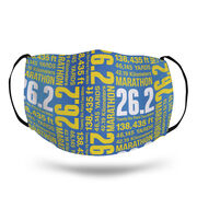 Running Face Mask - 26.2 Math Miles