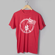 Running Short Sleeve T-Shirt - Let Freedom Run