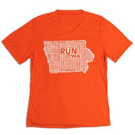 Women's Short Sleeve Tech Tee - Iowa State Runner