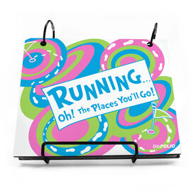 BibFOLIO® Race Bib Album - Running Oh The Places You'll Go
