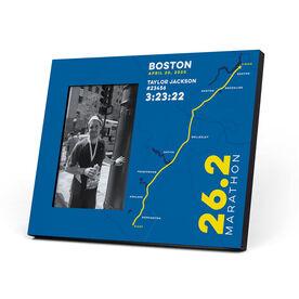 Running Photo Frame - Boston 26.2 Route