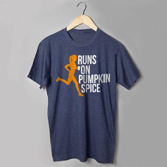 Running Short Sleeve T-Shirt - Runs On Pumpkin Spice