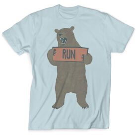 Vintage Running T-Shirt - Trail Bear