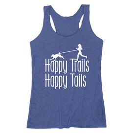 Women's Everyday Tank Top - Happy Trails Happy Tails