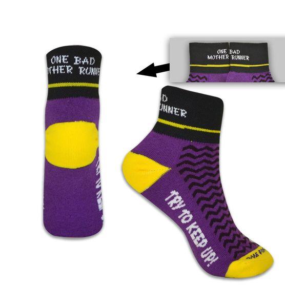 bad mother runner socks