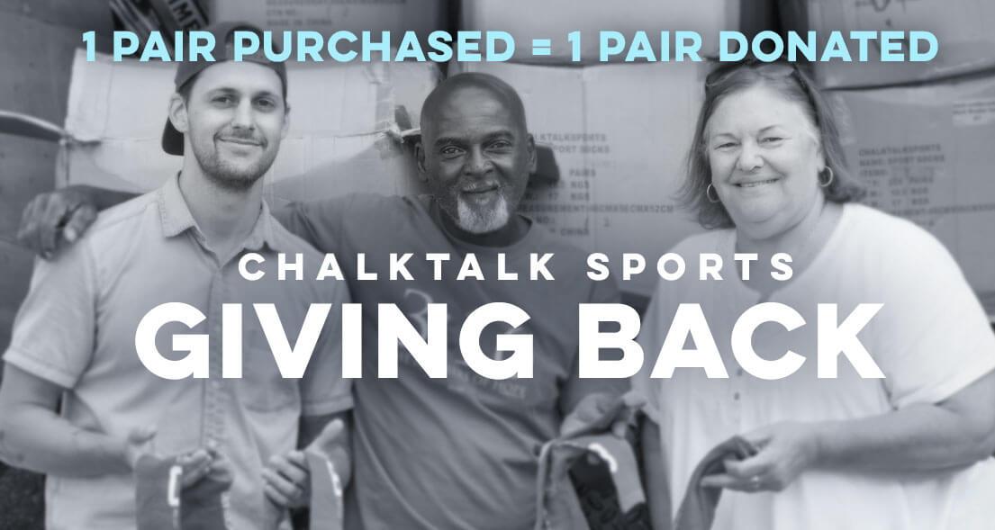 ChalkTalkSPORTS Giving Back to the Community