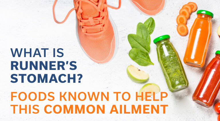 What is Runner's Stomach and Foods to Help this Common Ailment