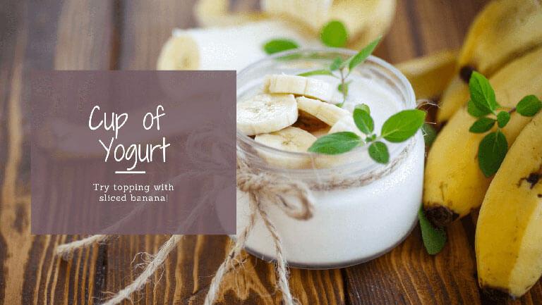 Cup of Yogurt after a Run