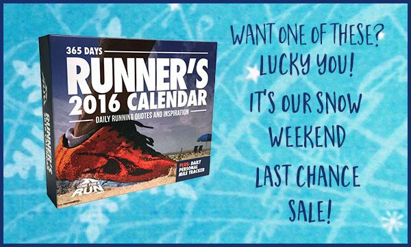 Runner's Calendar On Sale Now