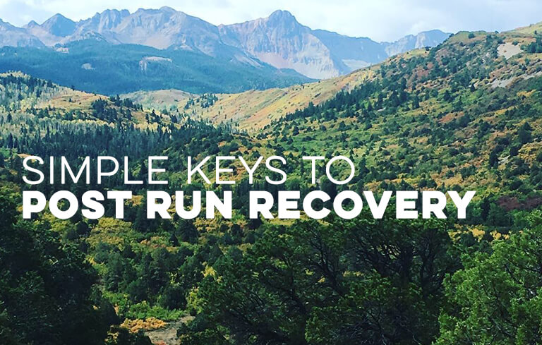 Simple Keys to Post Run Recovery