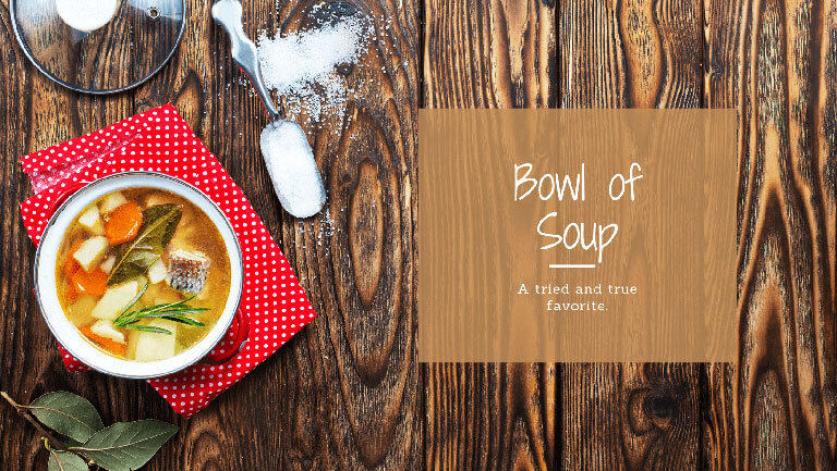 Bowl of Soup after a Run