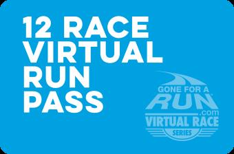 12 Race Virtual Run Pass