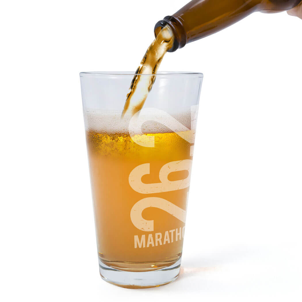 Marathon Gifts - Beer Glasses