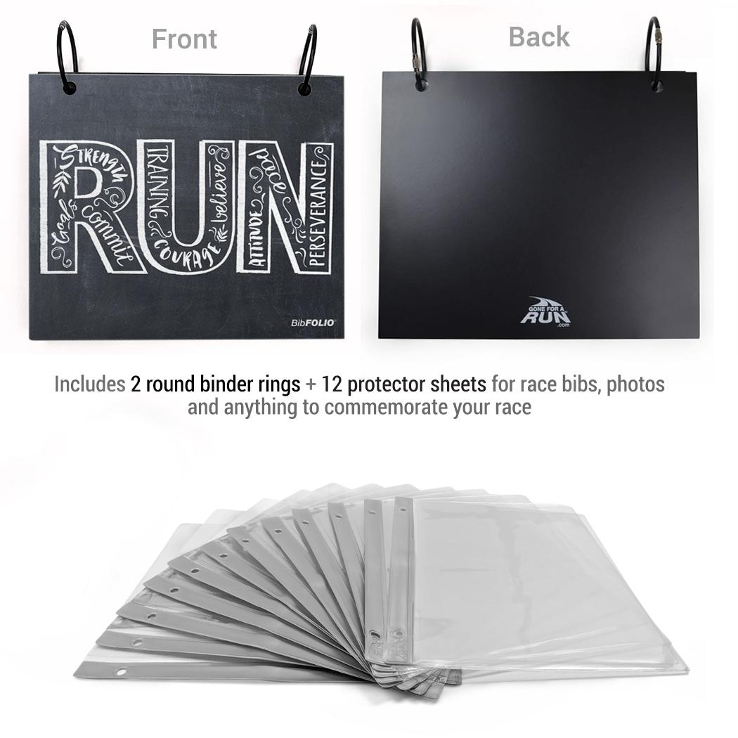 BibFOLIO® Race Bib Album Packages