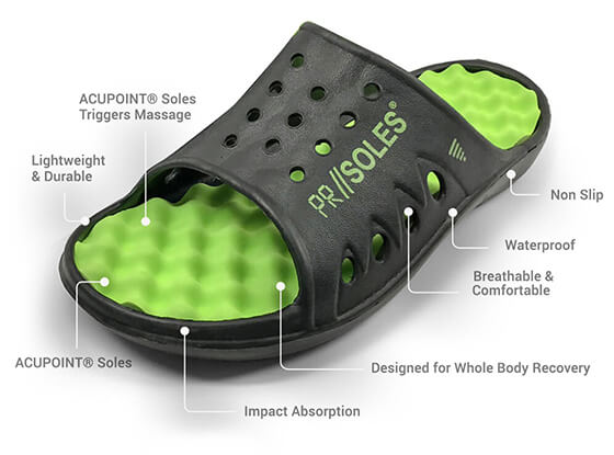PR Soles© Recovery Sandals