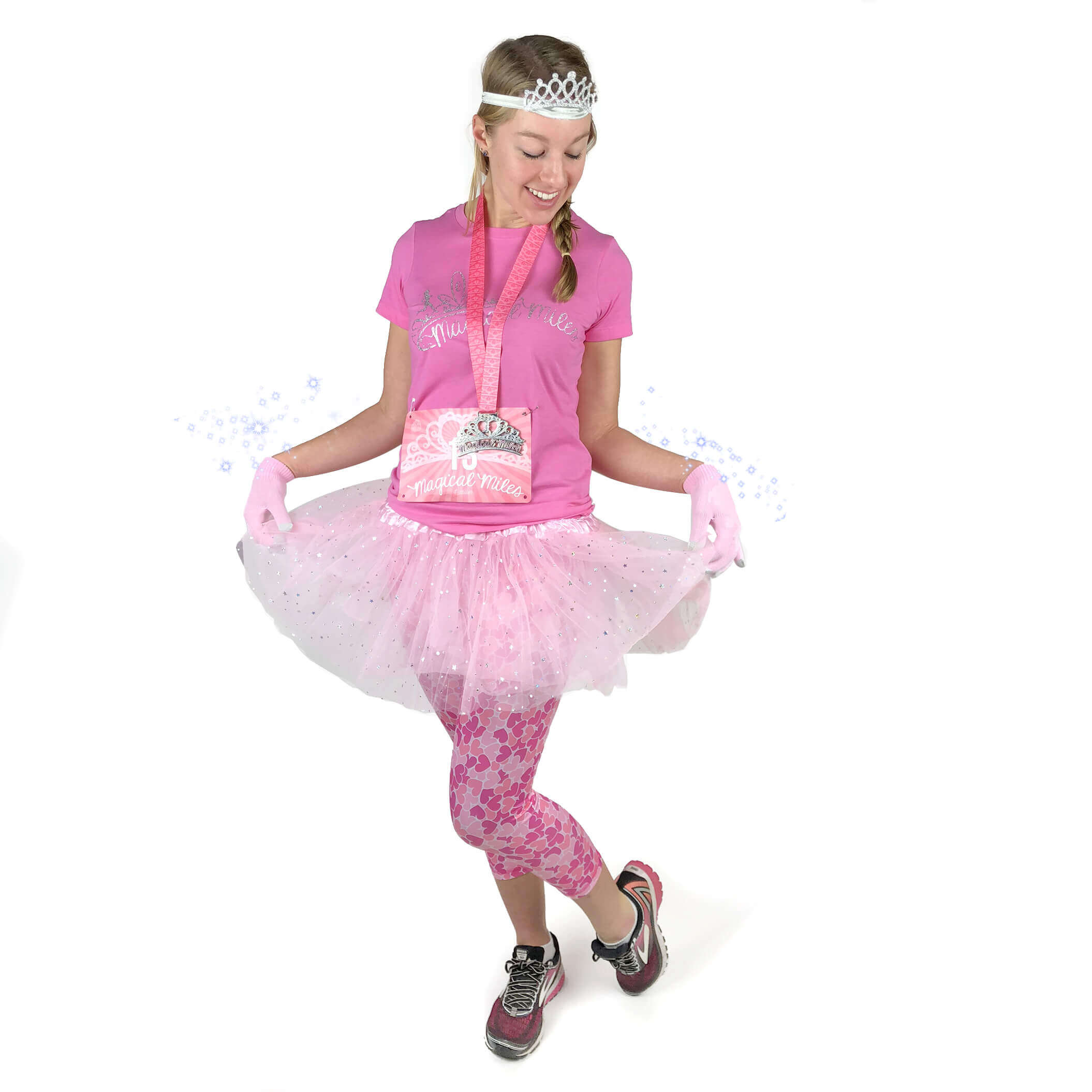 Magical Miles Running Costume Pink