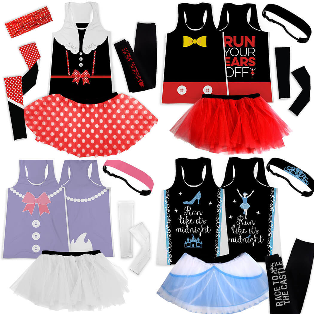Magical Running Costumes