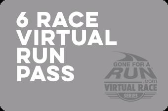 6 Race Virtual Run Pass