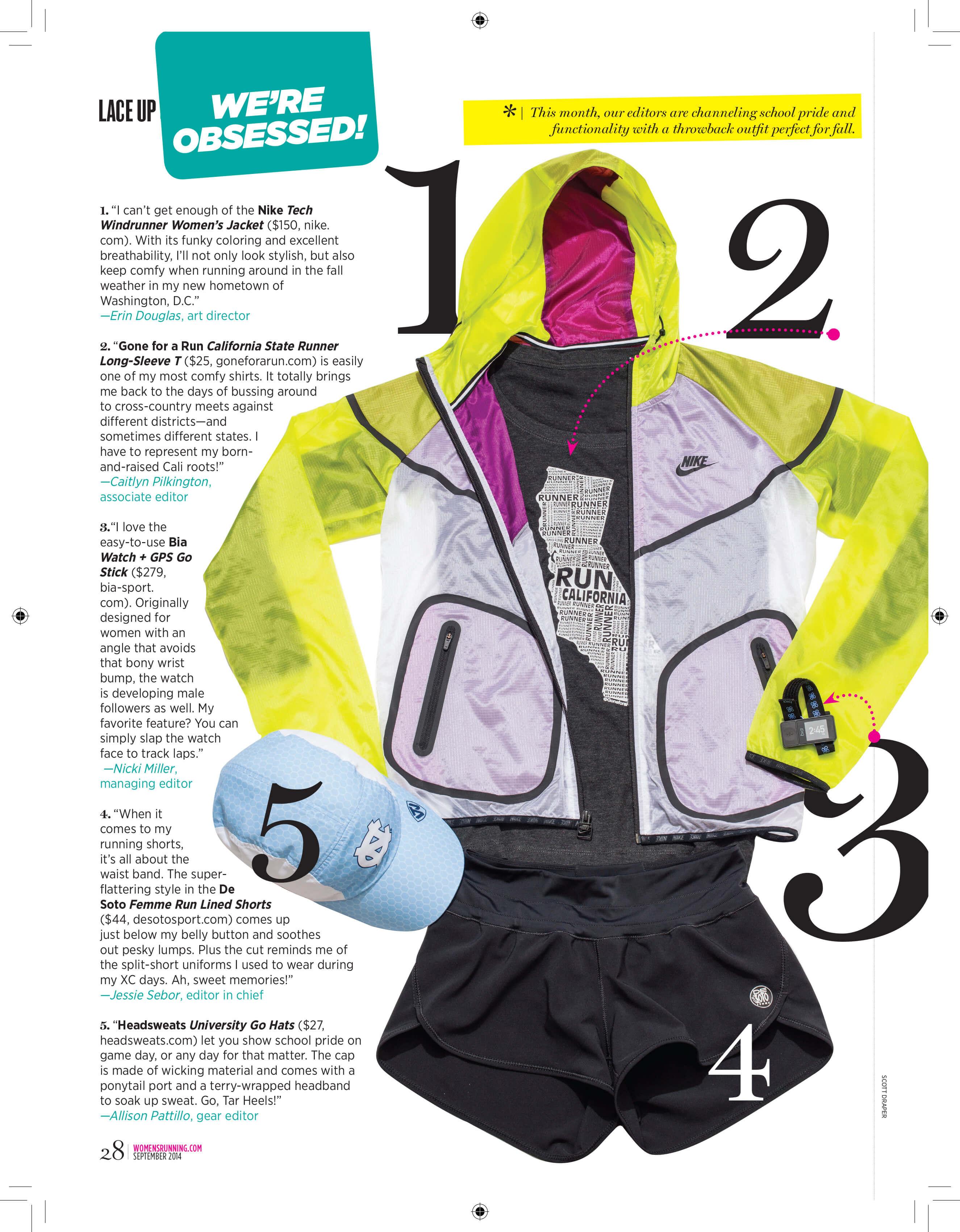 282cabdace827 Women s Running September 2014