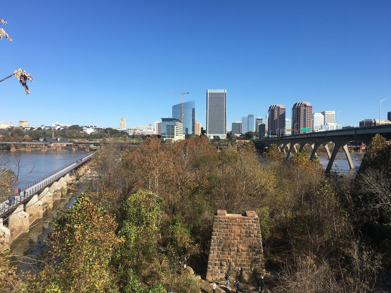 Richmond Skyline from the south side of the James River