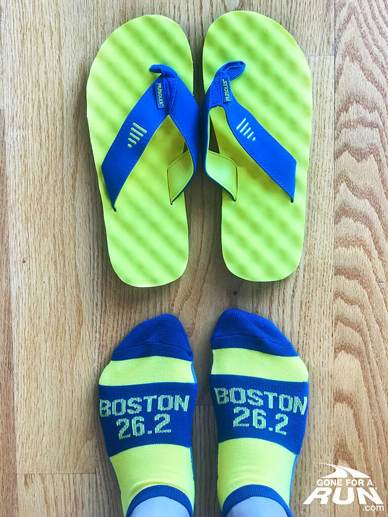 Boston Strong Socks and Sandals