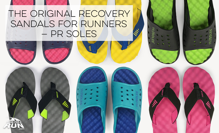 The Original Recovery Sandals For Runners – PR SOLES®