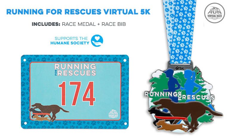 Running for the Rescues Virtual Race