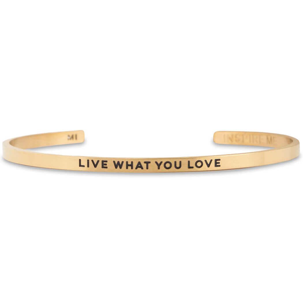 InspireME Live What You Love Bracelet