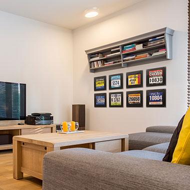 Race Bib Frames In Your Living Room