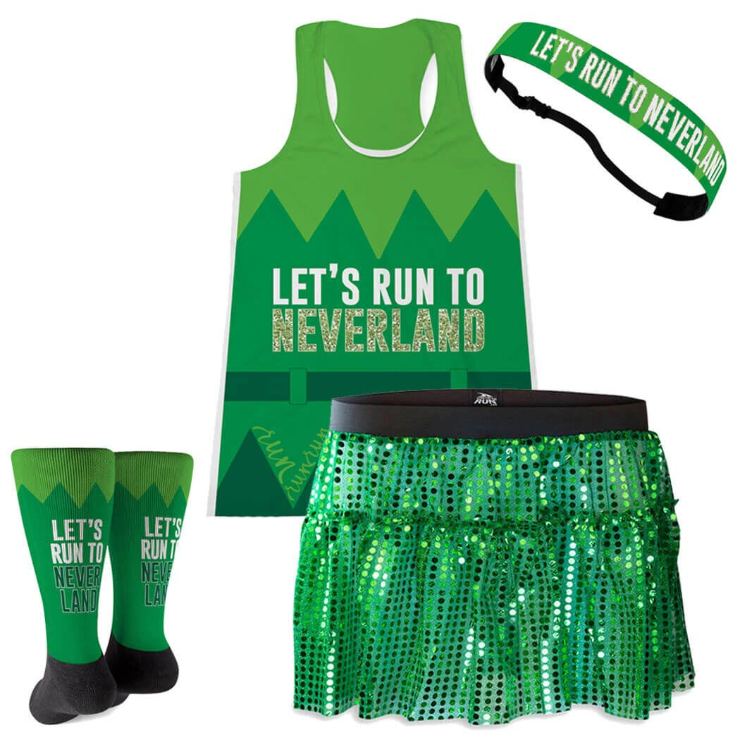 Let's Run To Neverland Running Outfit