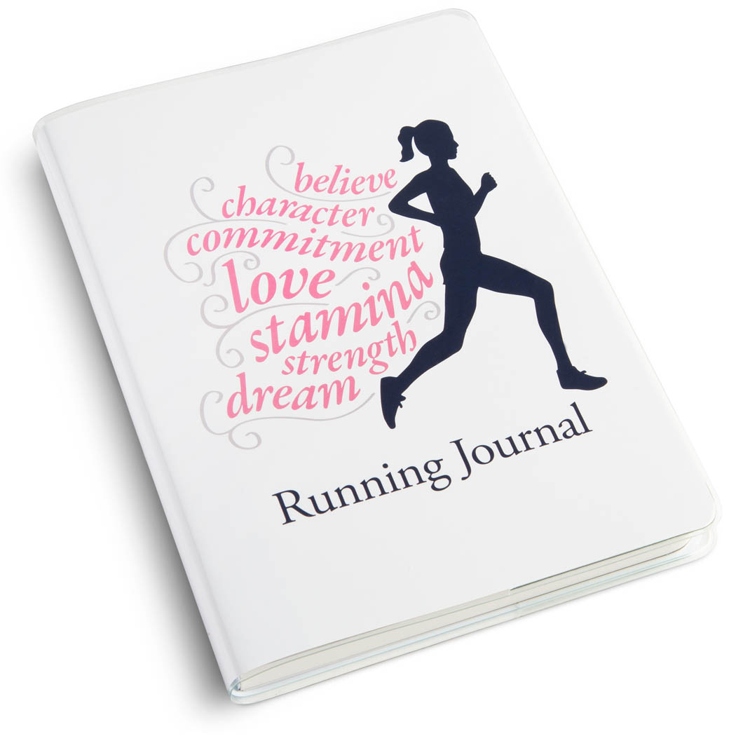 b370f2476f058 GoneForaRun Running Journal - Believe Running Girl