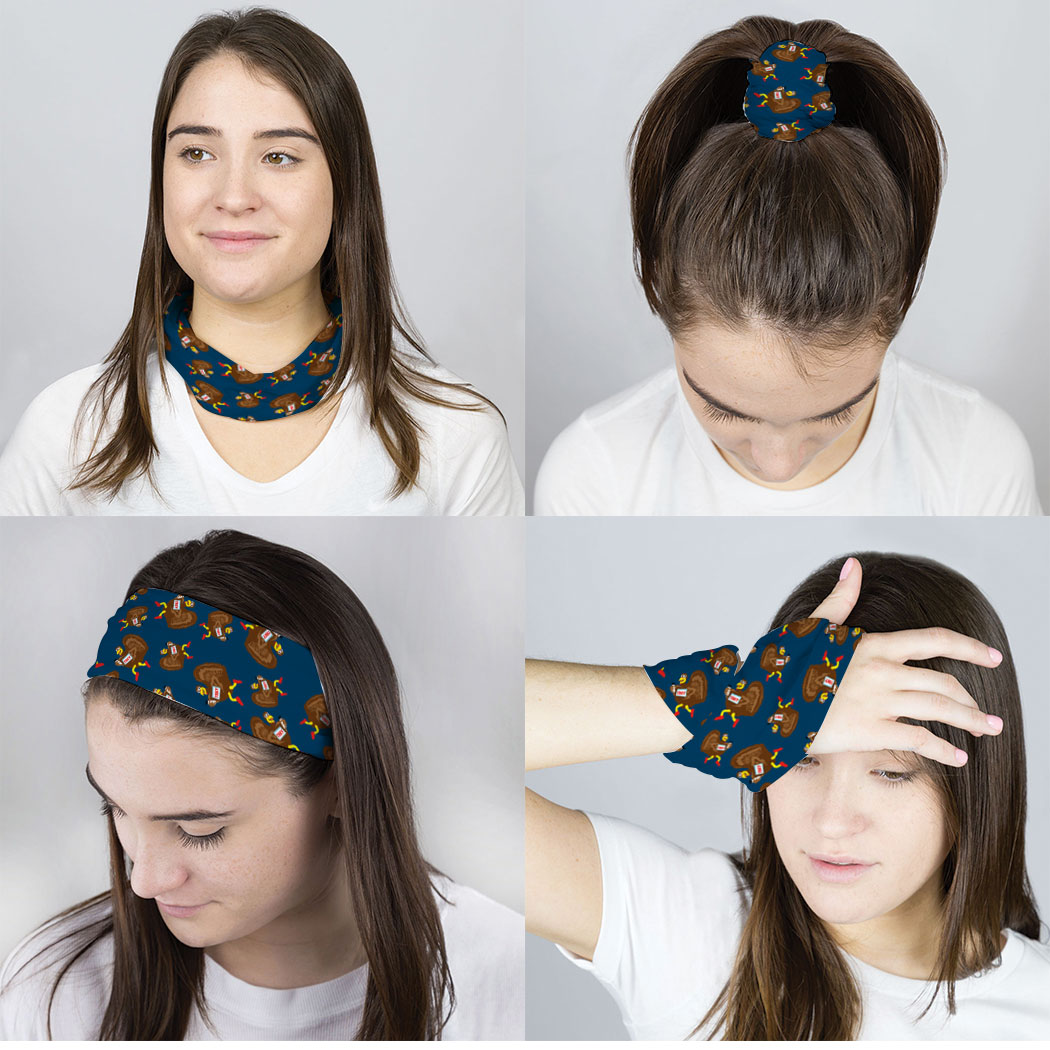 Running Multifunctional Headwear - Turkey Pattern RokBAND