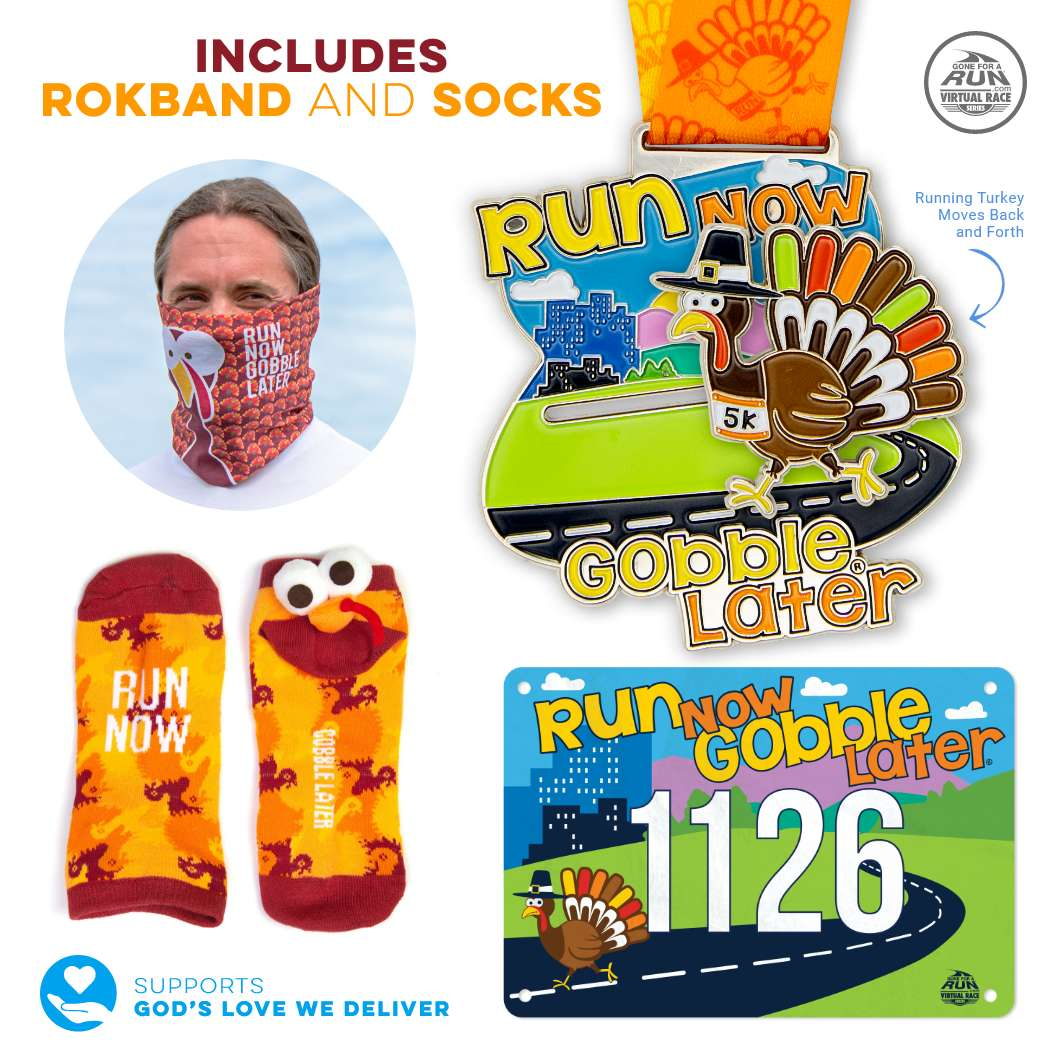 Virtual Race - Run Now Gobble Later® 5K (2020)