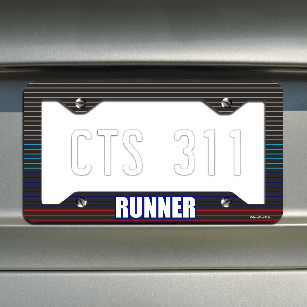 Runner License Plate Holder