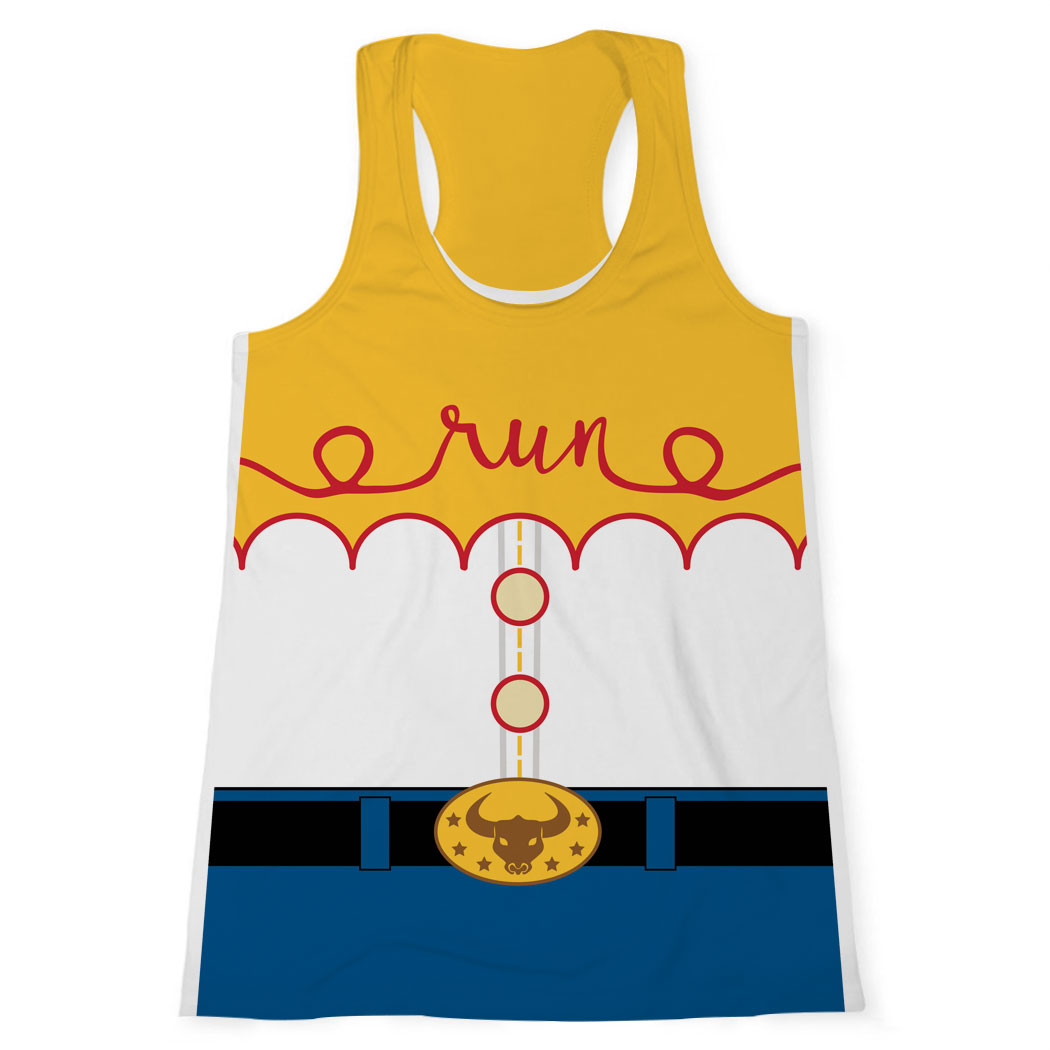 Women's Performance Tank Top - Cowgirl