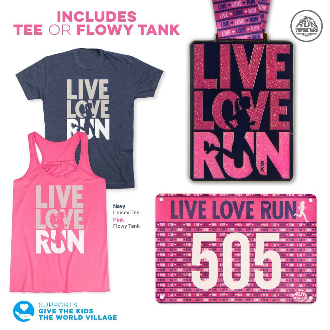 Running Tees Multiple Colors Youth Sizes Gone For a Run Run with Inspiration Lifestyle Youth T-Shirt