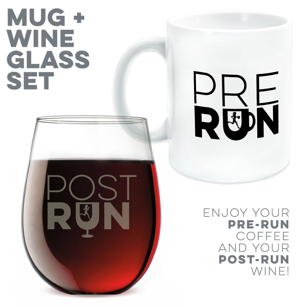 Pre-Run and Post-Run Drinkware Set