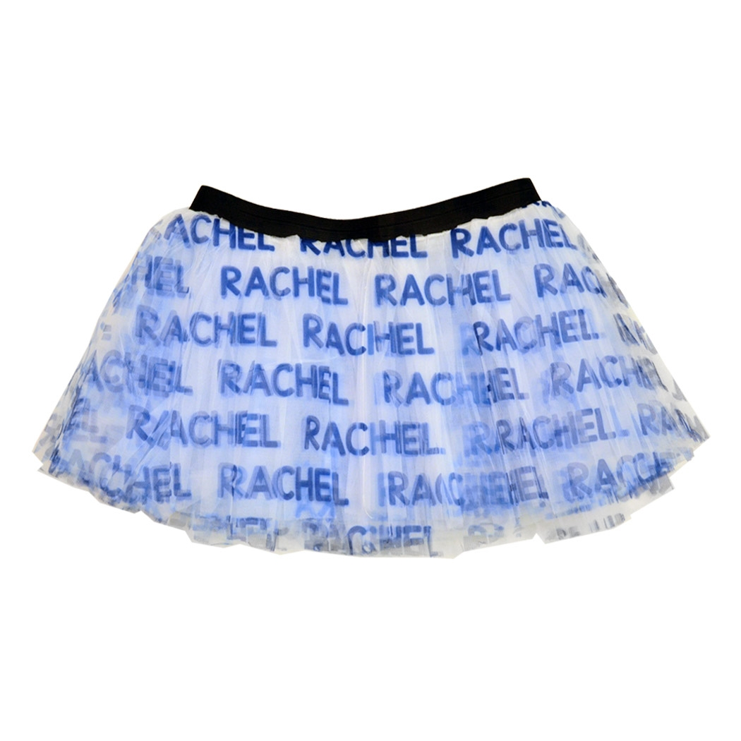 Runner's Printed Tutu Personalized Name