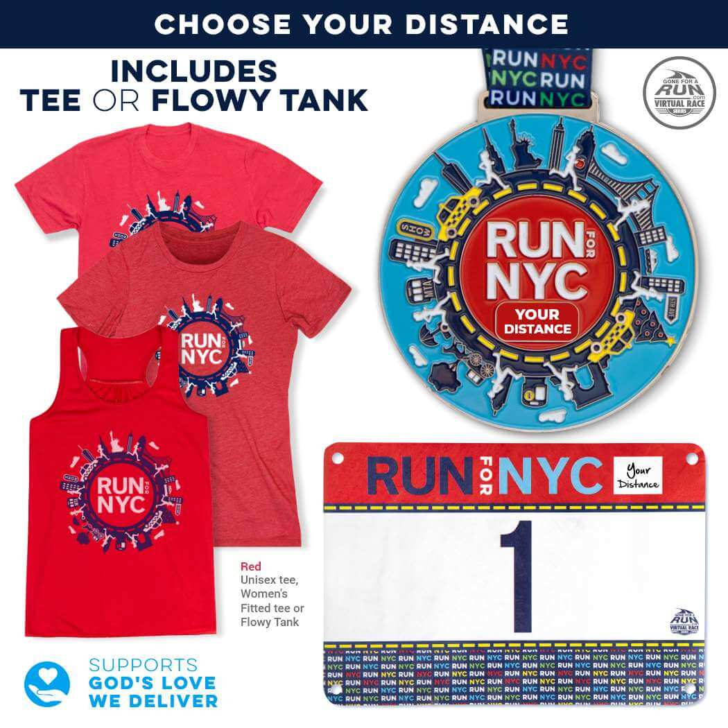 Virtual Race - Run For NYC (5 Race Cities Challenge)
