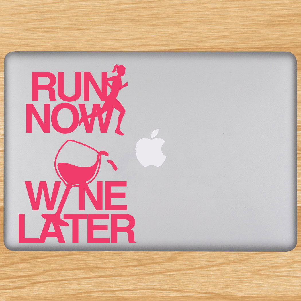 Removable goneforarungraphix laptop decal click to enlarge