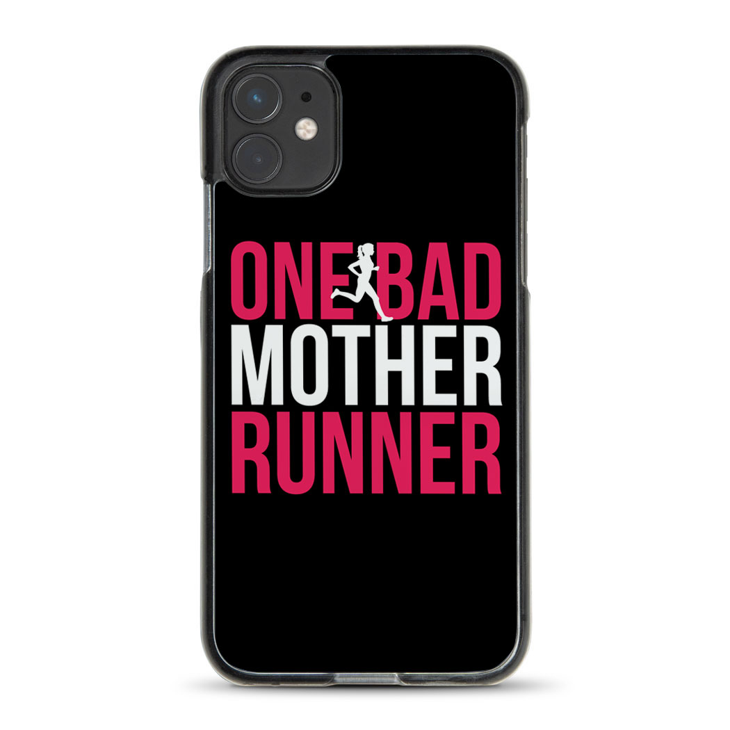 Running iPhone® Case - One Bad Mother Runner