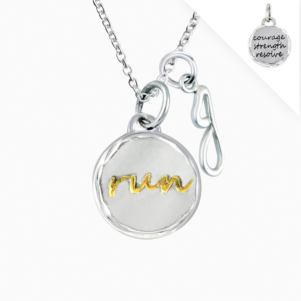 Livia Designs Sterling Silver and 14K Gold Vermeil Run ...