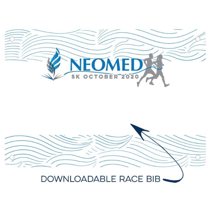 Downloadable Race Bib