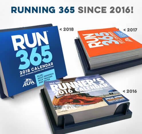 Past Gone For a Run Running Calendars